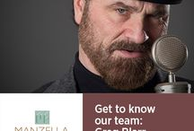 Get to know Manzella Marketing Group / From designers and copywriters who bring our clients' visions to life to production professionals who keep everything running smoothly (and on time!), each member of our 14-person team is indispensable. Get to know our group – from their latest Netflix binges to how they keep up in the ever-changing marketing world.