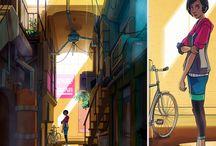 Concept art / Painting / Illustration
