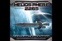 """Heliosphere 2265 (Hörspiel) - Hörproben / Hörprobe zu """"Heliosphere 2265 - Folge 1 - Das dunkle Fragment""""."""
