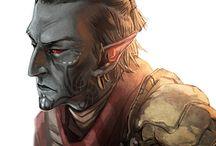 Elder Scrolls Dunmer