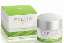 Exelia Cosmetics- Καλλυντικά Προσώπου / Τα προїόντα περιποίησης προσώπου Exelia είναι δερματολογικά ελεγμένα καλλυντικά που έχουν ως βάση το ελαιόλαδο βιολογικής καλλιέργειας και έχουν εμπλουτιστεί με θρεπτικά συστατικά, απαραίτητα για την κάλυψη των αναγκών της επιδερμίδας. www.exelia-cosmetics.com