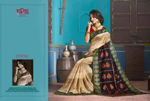 Ethenic / Wearing a saree, makes a woman believe how elegant and different she is in her own kind. It has not only become a sensuous, glamorous all time wear for woman but also the 'canvas' for weavers and printers to artistic weaves and jeweled embellishments!#sarees