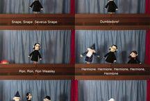 Potter's puppet pals