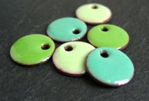 Rainbow Delight / All the colours of the rainbow. From handmade enamel discs that you can use in your jewellery designs to all things colourful!