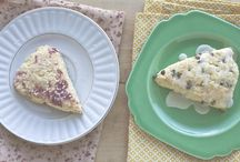 muffins + scones made