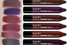 Liquid lipstick, gloss & lip liner / Affordable lip products for medium/yellow skin tone aka my wishlist :D