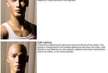 Light & Photographic lighting / Photographic lighting is the illumination of scenes to be photographed. A photograph simply records patterns of light, colour, and shade; lighting is all-important in controlling the image.