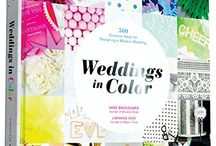 Weddings in Color / Lots of brightly colored inspiration for your own wedding!  The book is out now!  Available on Amazon, Barnes & Noble, & Indiebound.  http://goo.gl/6OYkrs / by Vané Broussard