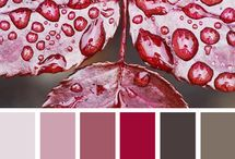 červená - ružová