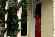 Door/Porch Decoration-Christmas/Winter / by Angela Davis