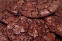 Темно-шоколадные брауни