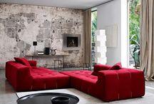 стены бетонные