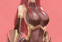 Erza Scarlet badass lady! / Your friends are your power