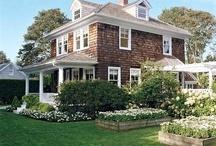 Cedar cladding house
