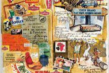 Carnets de Voyages / Inspirations personnelles de jolis carnets de voyage
