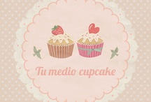 Tu medio cupcake / #cupcakes #cakes #sweet #recipes #blog #tu #medio #cupcake