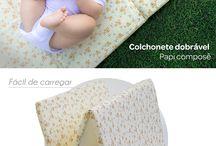 ♡ Conforto e Segurança ♡ / Tudo que seu bebê precisa para conforto e segurança ele encontra aqui! Saiba mais em www.lojapapi.com.br