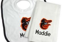 Baltimore Orioles Baby Gifts / Personalized Baby Gifts For Fans Of The Baltimore Orioles Major League Baseball Team.