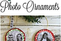 Art Club December 2017--Decoupage Holiday Ornaments