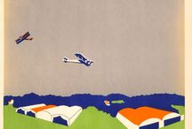 British Airways posters from the past