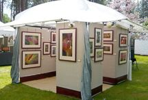 Displays for Outdoor Art Shows