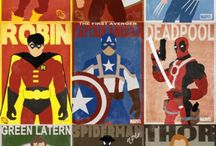 Superboy room inspiration  / by Veronica InvitingPrintables