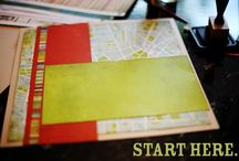 scrapbook starting points / before and after ideas for scrapbook pages #scrapbooking / by Shimelle Laine