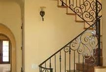 Dream Home: Staircase & Iron Railing