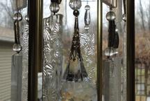 Decoración con vidrio .