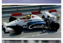 F1 Benetton (Toleman) / ベネトンは1985年シーズン終了後にトールマン(1981-1985)を買収し、チームは1986年にベネトン・フォーミュラと改名された。その後、このチームは2001年にルノーによって買収され2002年よりルノーF1として参戦していたが、ルノーのワークス参戦休止により2011年からはロータスに改名、2016年から再びルノーが買収し、ルノー・スポールF1チームとして活動を継続中。