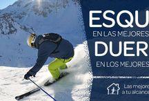 Ofertas en la Nieve / Disfruta de la nieve esta temporada co las mejores ofertas en hoteles y forfait