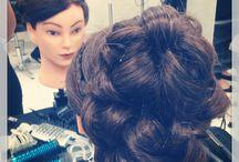 Hair styling (my work)  / Hair updo #k'shair&makeup