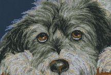 Cross stitch ~ Dogs