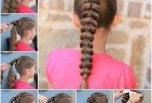 Kids hairstyle / by Eugenia Hdez.