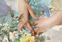 Art du détail, les fleurs