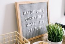 Coffee/breakfast station/bar