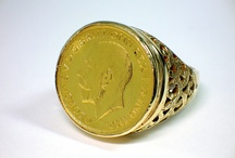 Half Sovereign Gold Ring Settings