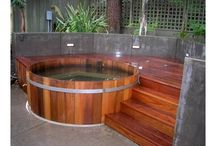 Hot tub - Semi Built In - 1391606528