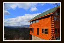 Nothin but a Good Time / Nothin' But A Good Time is a luxury, 2 story, 1500 sq. ft., fully log cabin. This cabin has a WOW factor as you walk in the door; the whole back wall of the cabin, is completely windows, with a breathtaking mountainous view.  A deck across the entirety of each floor, allows for relaxing in the 4 person hot tub while stress melts away, or sitting in one of the 3 rocking chairs, sitting on the glider, or sitting at the high patio table that seats 4.