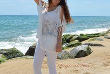 Vestidos de playa. Moda Ibiza / Siguenos en Facebook, Instagram y you tube