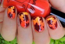 leaf nail art gallery by nded / leaf nail art gallery by nded