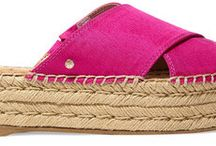 Summer Sandals and Espadrilles / summer sandals, shoes and fashion for vacations and holidays