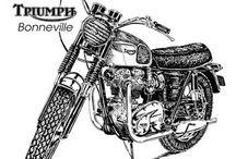 Triumph Boneville