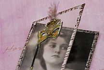 ATC's & Inchies / ATC, artist trading cards, inchies, betwinchies, handmade