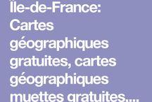 cartographie Ile de France