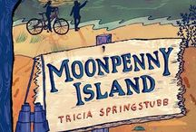 Moonpenny Island / My new middle grade novel, publishing February 10, 2015