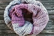 crochet scarfs and shawls