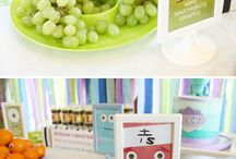Monsters Inc Food for Baby Shower / by Erica Cherney