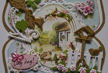 Tuinplaatjes met creatables kaarten