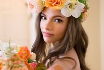 Flower Crowns / Wedding Flowers, Weddings Niagara on the Lake, Cathy Martin Flowers, Flower Crowns, Hair Garlands